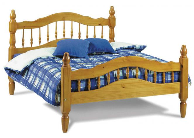 338TFQ Wooden Bed