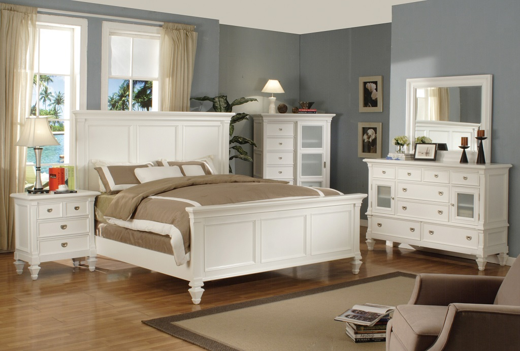 Adelaide White Bedroom Set Furtado Furniture