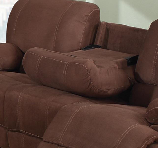 Warner Recliner Sofa Set Head