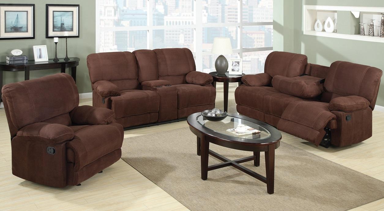 Warner Recliner Sofa Set