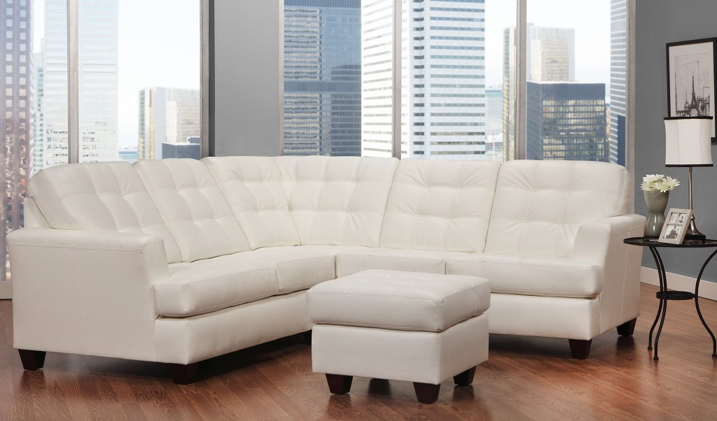 AC2424 Leather Sectional
