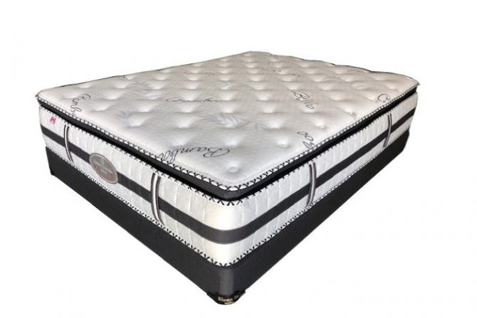 SIM-015 Siesta Mattress Set(new)