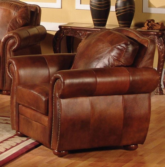 Sofia Leather Love Seat