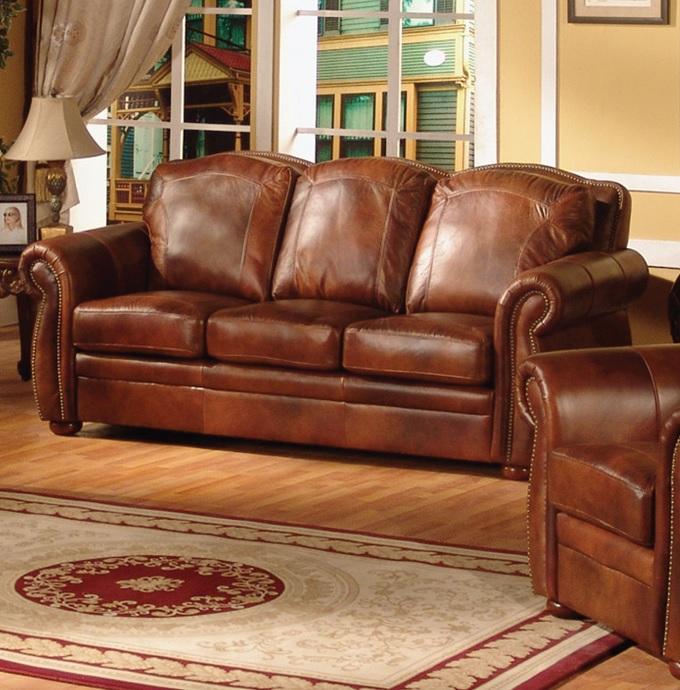 Sofia Leather Only Sofa