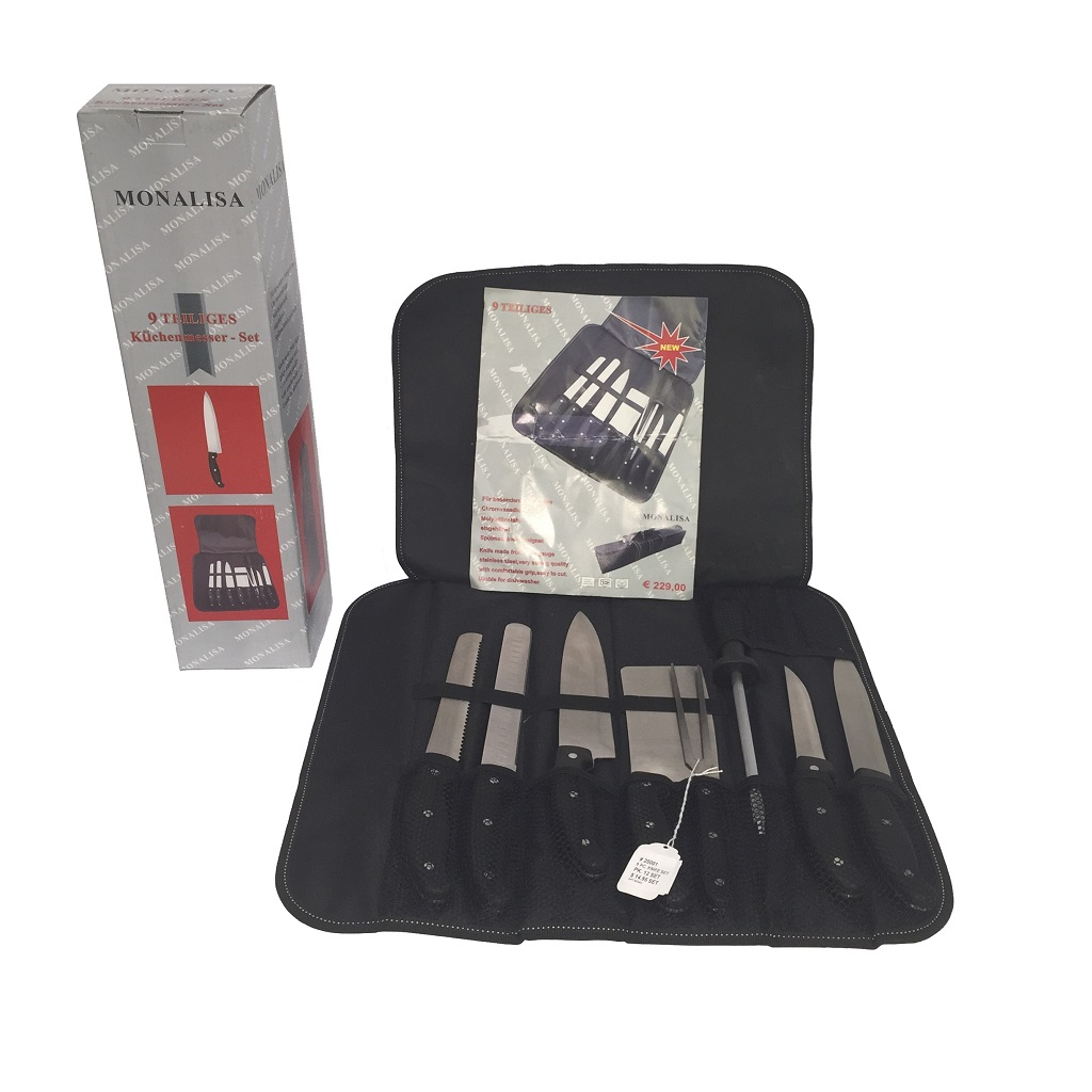 STA-25001 9pcs Knife Set