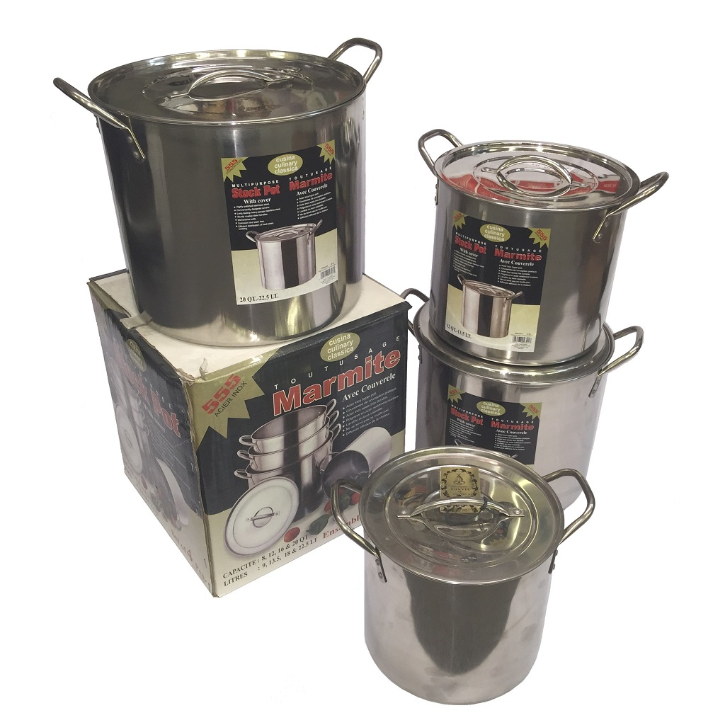 STA-524 Stock Pot Set