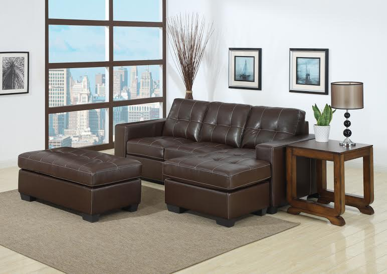 Jenny GL-6606 Leather Sofa Sectional