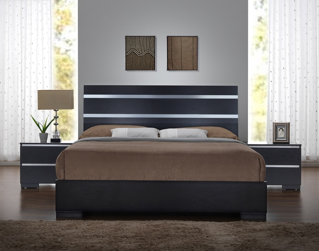 KW-B110 Wooden Queen Bed