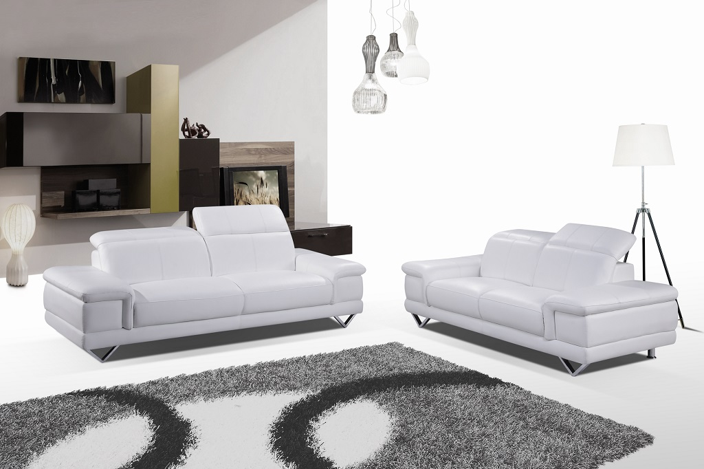 KWLD498 White Sofa