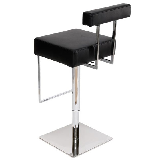 MDS51_015 Black Barstool