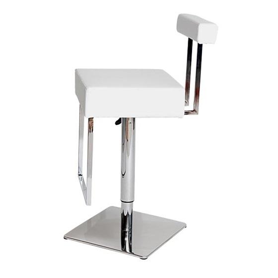 MDS51_015 White Barstool