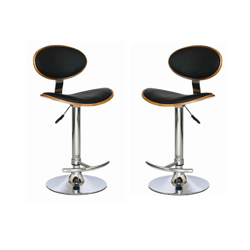MDS-51-018 Flat Crock Leather Bar Stool