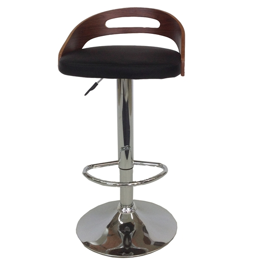 MDS51_052 Black Barstool