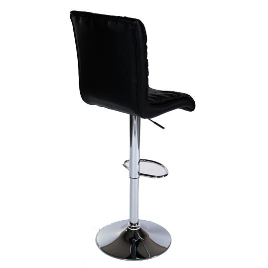 MDS51_304 Black Barstool