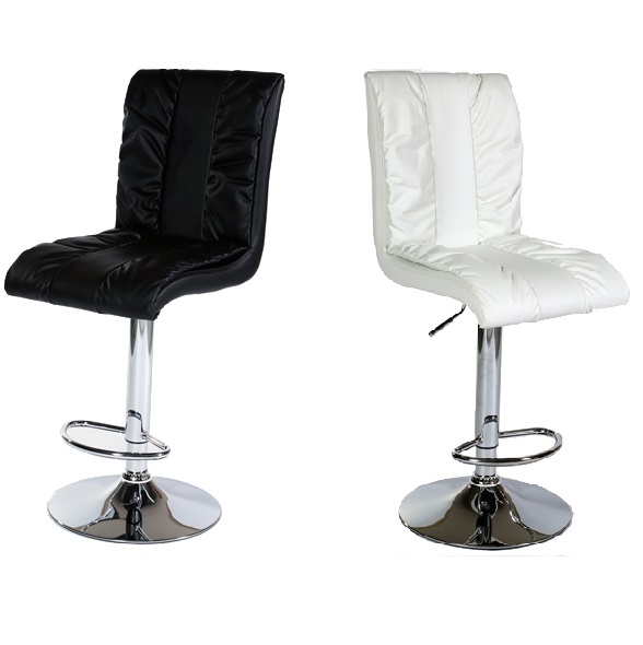 MDS-51-304 Peacock Leather Bar Stool