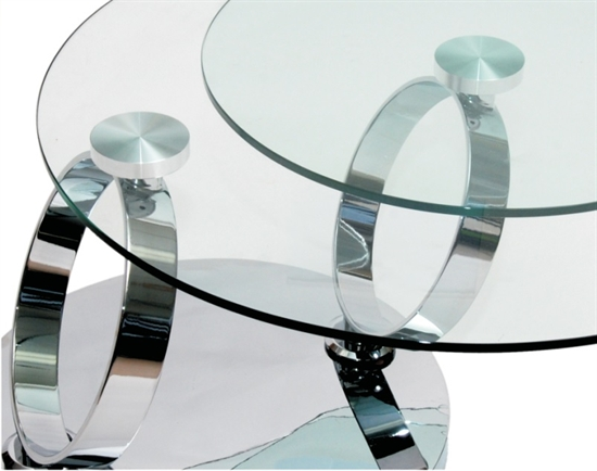 MDS53_117 Glass Coffee Table