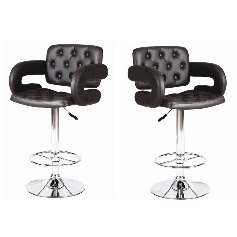 MDS-51-019 Comfy Leather Bar Stool