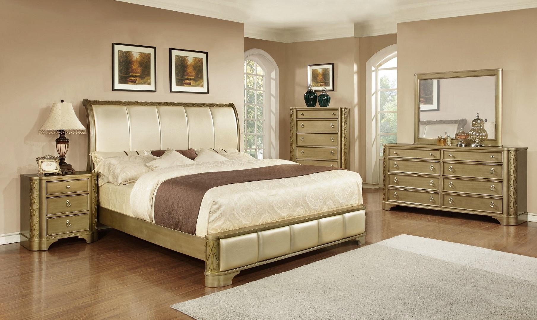 GL2909 Milan Bedroom Set