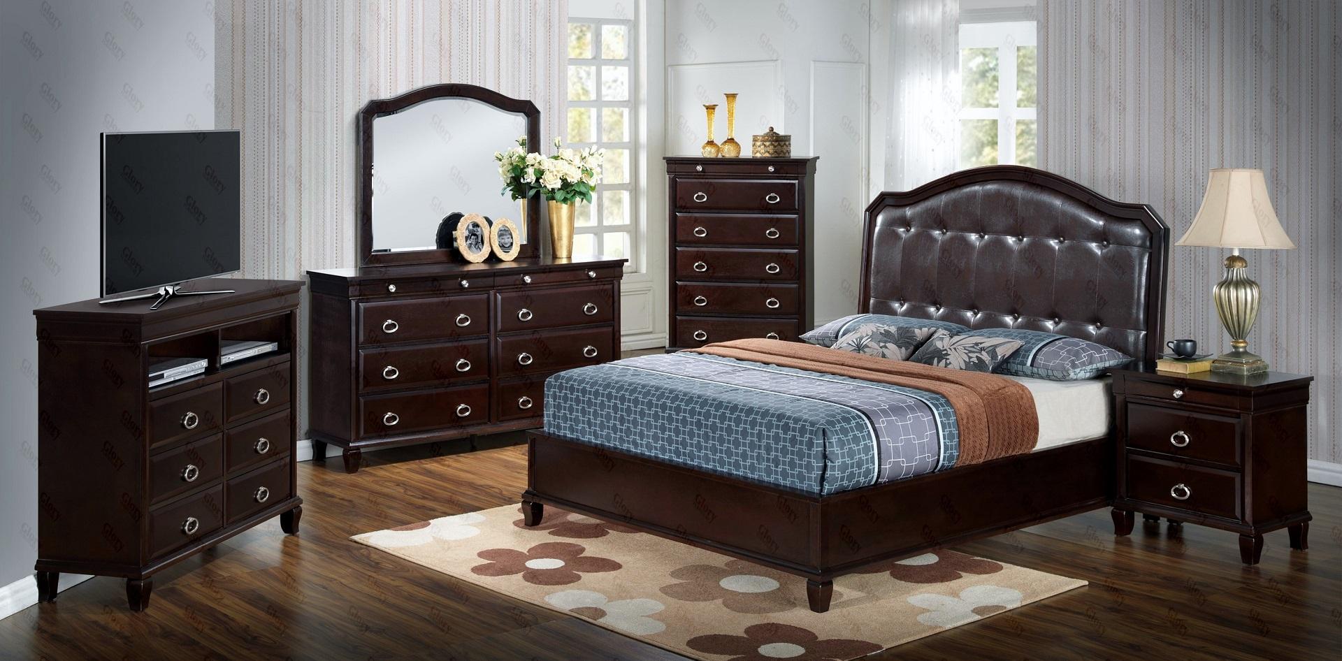 GL2923 Alpha Bedroom Set