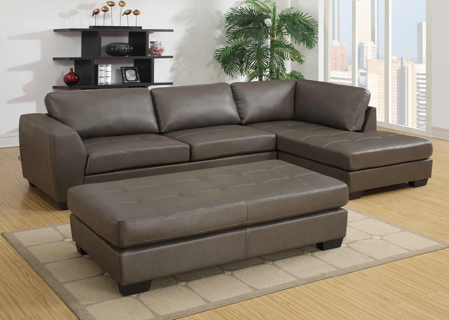 GL6609 Liverpool Sectional Grey