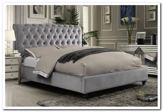 CHT-511GR Upholstered Bed