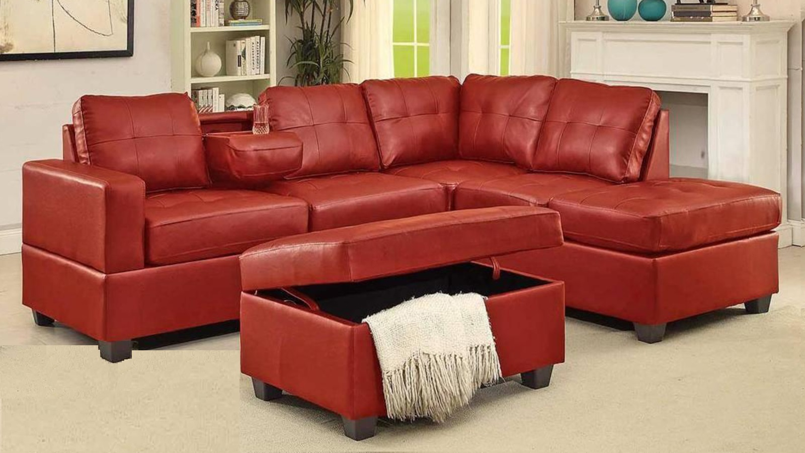 SECTIONAL-BOL-TANYA-RED