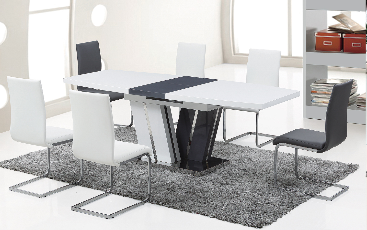 Tacoma modern dining table