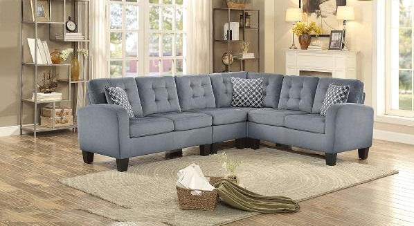 SECTIONAL-MAZ-8202GRY-CA