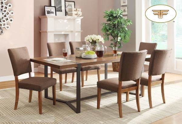 DININGTABLE-MAZ-3438-84 7pc-LEXUS