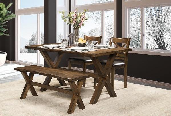 DININGTABLE-MAZ-5000 4pc-CLEVELAND