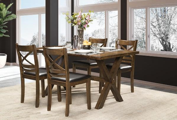 DININGTABLE-MAZ-5000 5pc-CLEVELAND