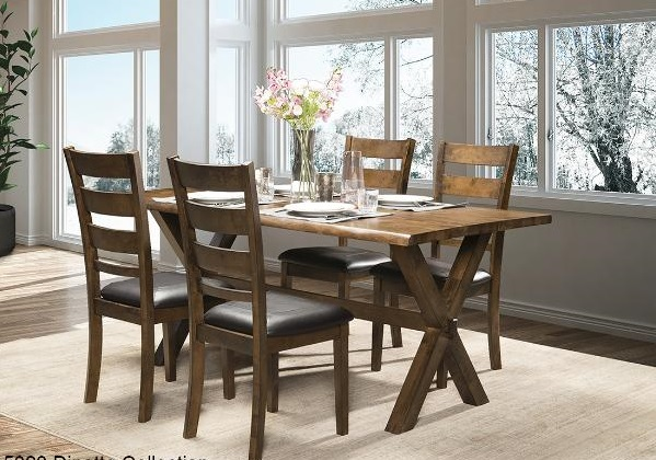 DININGTABLE-MAZ-5020 5pc-ROSTER