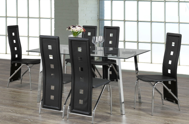 DINING TABLE-INT-T-5057-C-5066