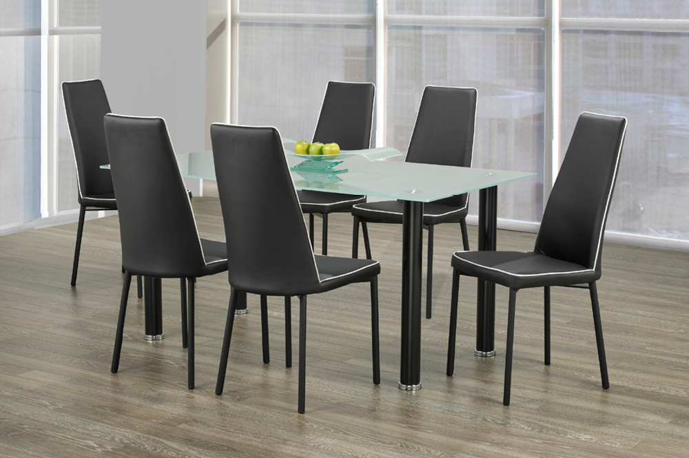 DINING TABLE-T-3425-Black