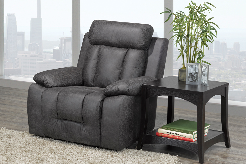 RECLINER CHAIR-T-1011-GREY
