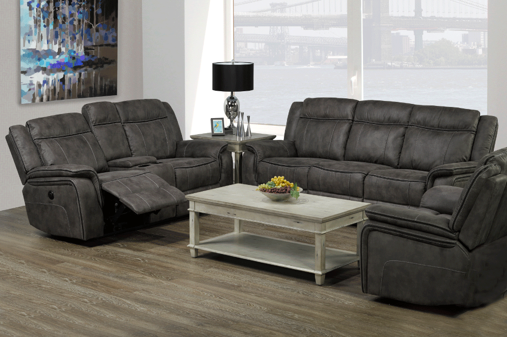 RECLINER SOFA SET-T-1417