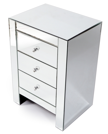 MIRRORED NIGHT TABLE-MDS-40-013-1