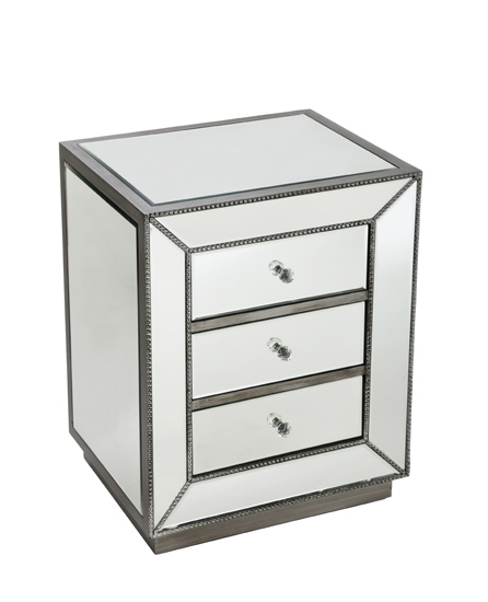 MIRRORED NIGHT TABLE-MDS-40-062