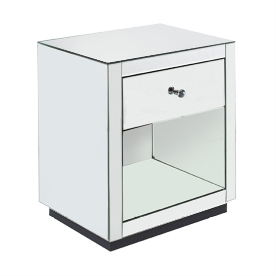 MIRRORED NIGHT TABLE-MDS-40-207
