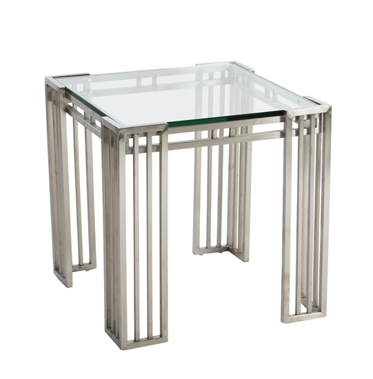 MIRRORED SIDE TABLE-MDS-35-122