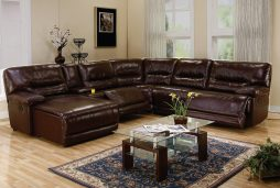 Recliner Leather Sectionals