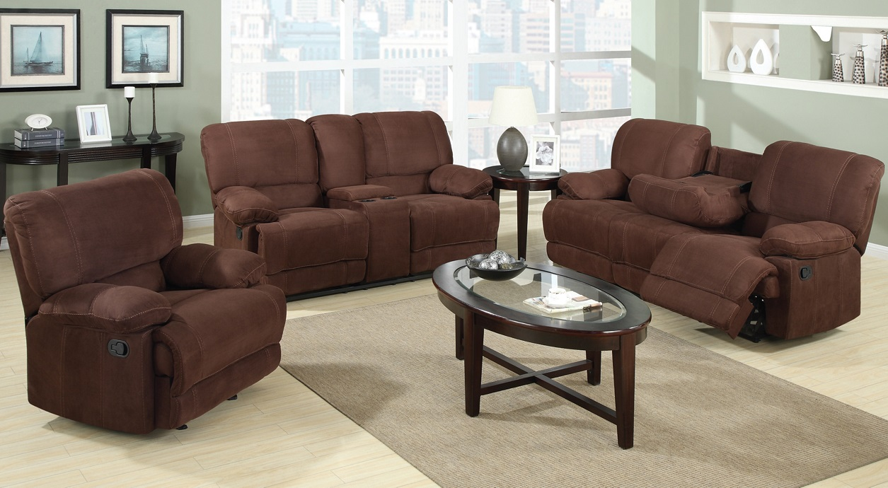 Warner Recliner Sofa Set