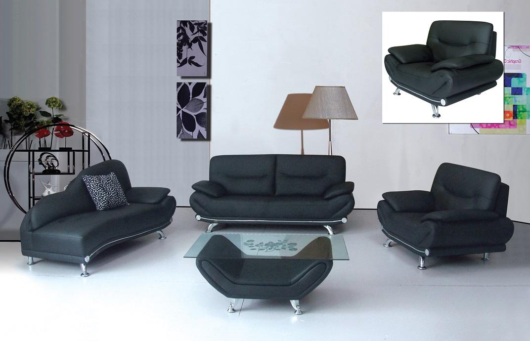 Lindsay Black Sofa