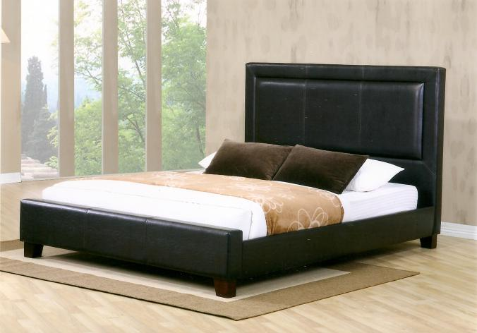 MEG441 Leather Bed