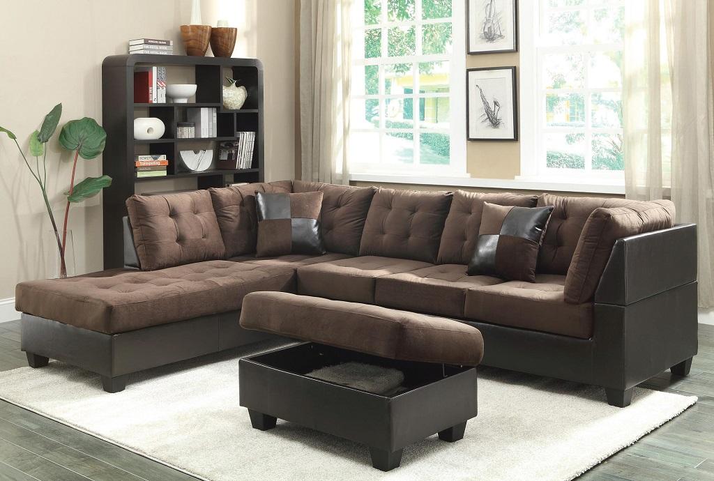Nara Dark Sectional Furtado Furniture