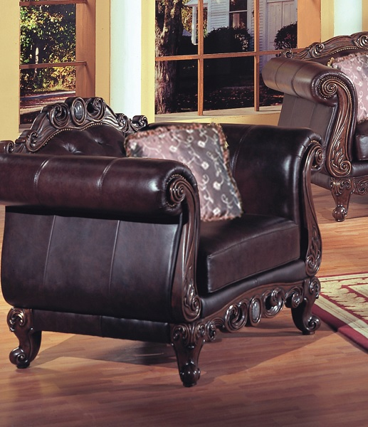 Panama Leather Chairjpg
