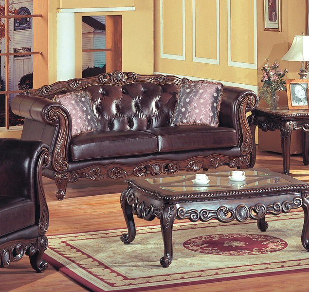 Panama Leather Only Sofa