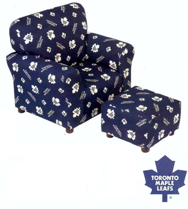 Sta1960 Toronto Maple Leafs Club Chair Furtado Furniture