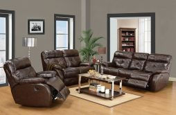 Recliner Leather Sofa Sets