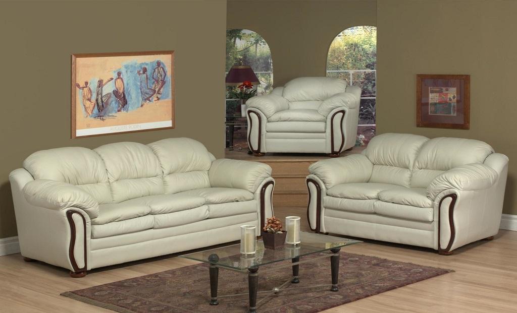 AC6950 Leather Sofa